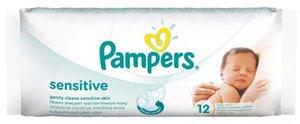 Pampers Sensitive Влажные салфетки 12 шт.