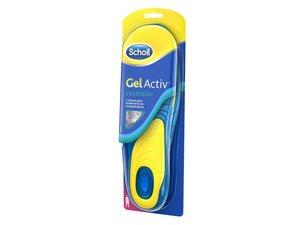 Стельки Scholl Gel Active EveryDay для комфорта на каждый день женские размер 37-41