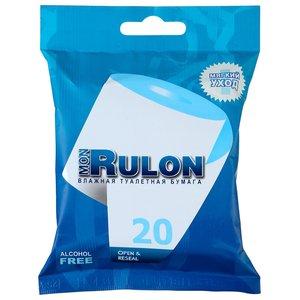 Влажная туалетная бумага Mon Rulon N 20