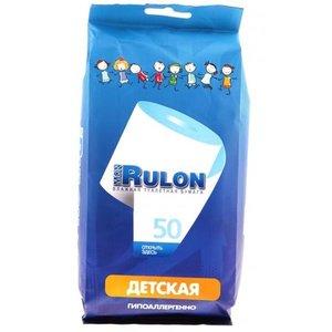 Mon Rulon бумага туалетная влажная детская N 50