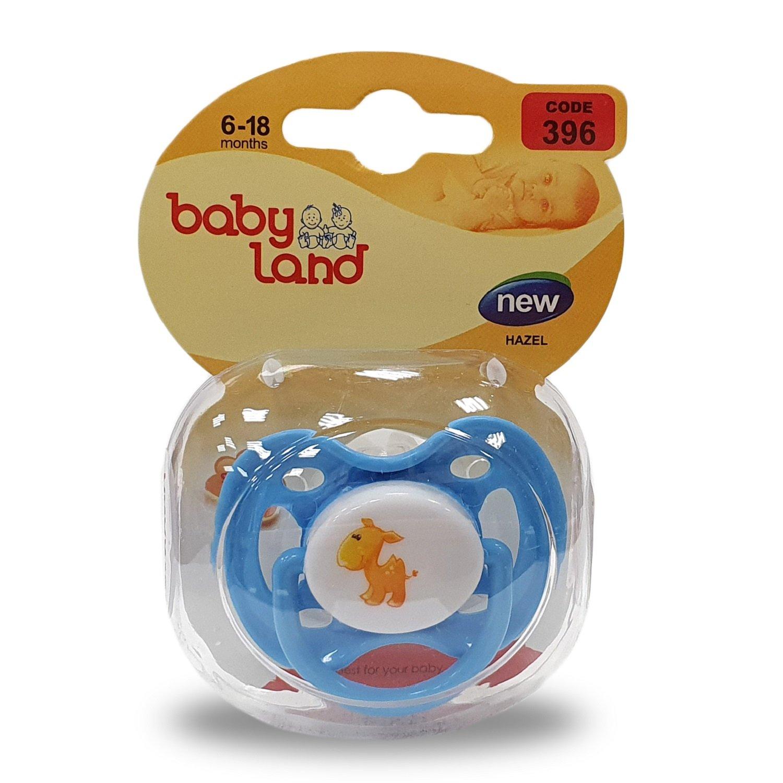 Baby Land пустышка силиконовая классик 6-18мес 396