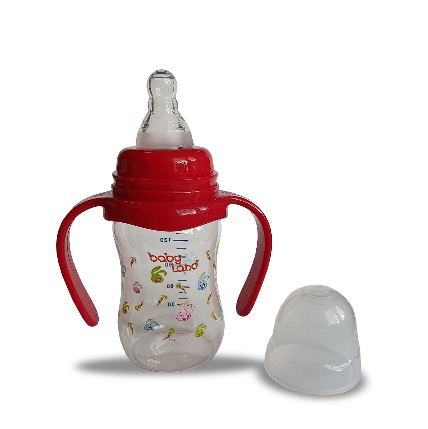 Baby Land бутылочка с ручками 150мл 107