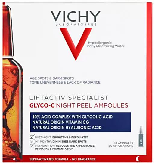 Liftactiv Specialist Glico-C сыворотка 2мл N30 Vichy (Виши)