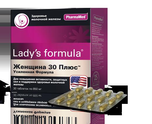 Леди-С формула Женщина 30 плюс усиленная таб N30