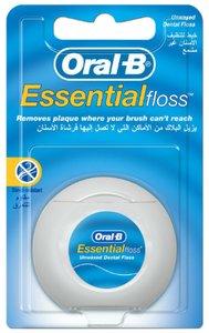 Oral-B Зубная нить Essential невощеная 50 м