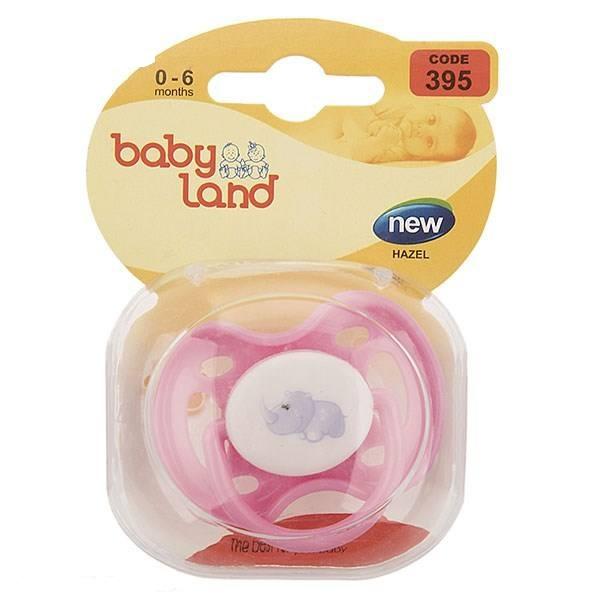 Baby Land пустышка силиконовая классик 0-6мес 395