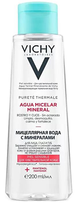 Purete Thermale мицеллярная вода с минералами для чувствительной кожи 200мл Vichy (Виши)