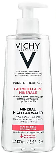Purete Thermale мицеллярная вода с минералами для чувствительной кожи 400мл Vichy (Виши)