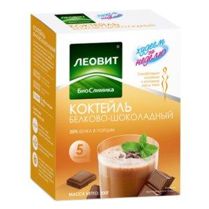 Леовит Худеем за неделю Коктейль белково-шоколадный N5
