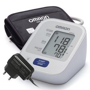 Тонометр автоматический Omron M2 Basic универсальная манжета+адаптер