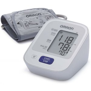 Тонометр автоматический Omron M 2 basic на плечо + адаптер
