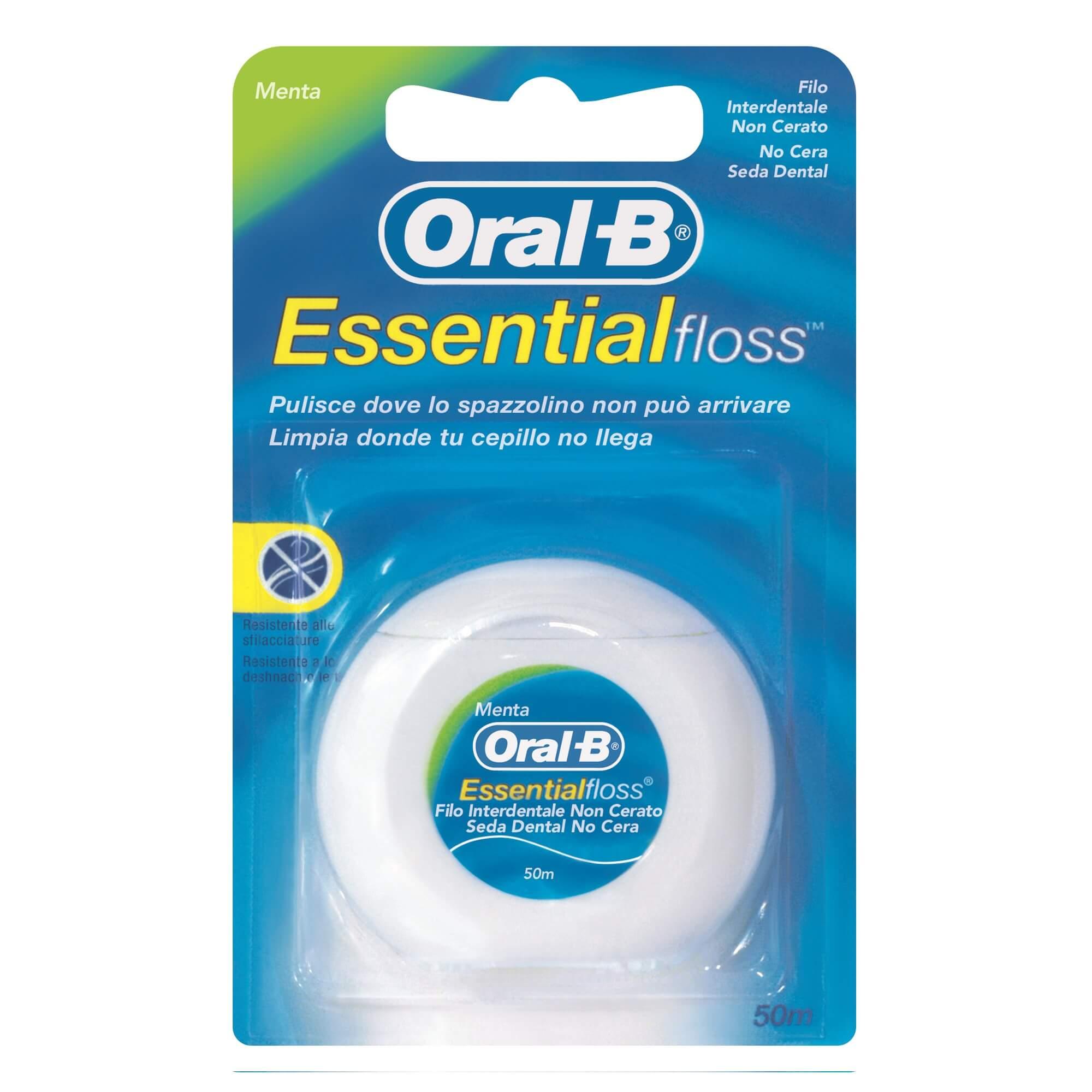 Зубная нить Oral-B Essential Floss, 50 м.