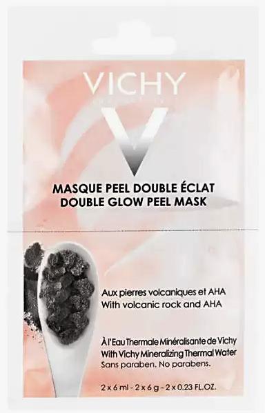 Double Eclat маска-пилинг минеральная двойное сияние саше 6мл N2 Vichy (Виши)