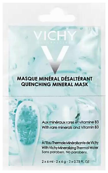 Маска минеральная увлажняющая успокаивающая саше 6мл N2 Vichy (Виши)