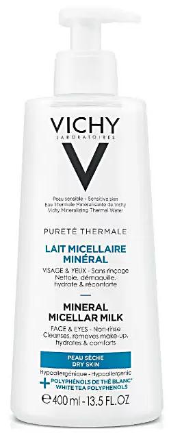 Purete Thermale молочко мицеллярное с минералами для сухой и нормальной кожи 400мл Vichy (Виши)