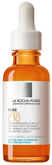 Vitamin C10 сыворотка антиоксидантная для обновления кожи лица 30мл La Roche-Posay (Ля Рош Позе)